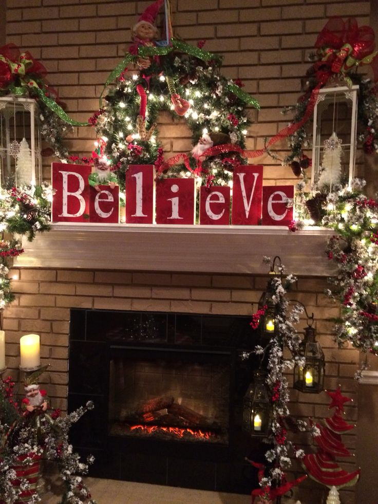 31 i believe in santa clause - Indoor Christmas Decorations Ideas