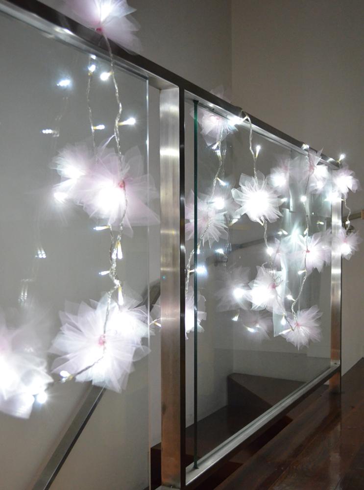 Blue Mini Christmas Lights