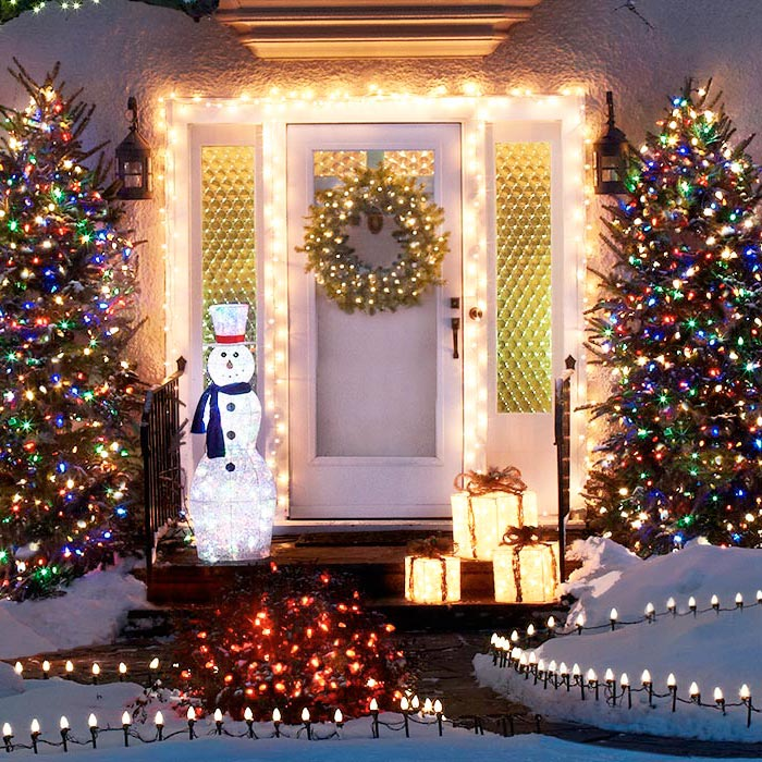 Light Up Your Garage Creatively: 50 Trendy And Beautiful DIY Christmas Lights Decoration