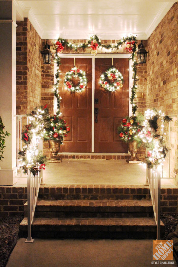 50+ Best Christmas Porch Decoration Ideas for 2020