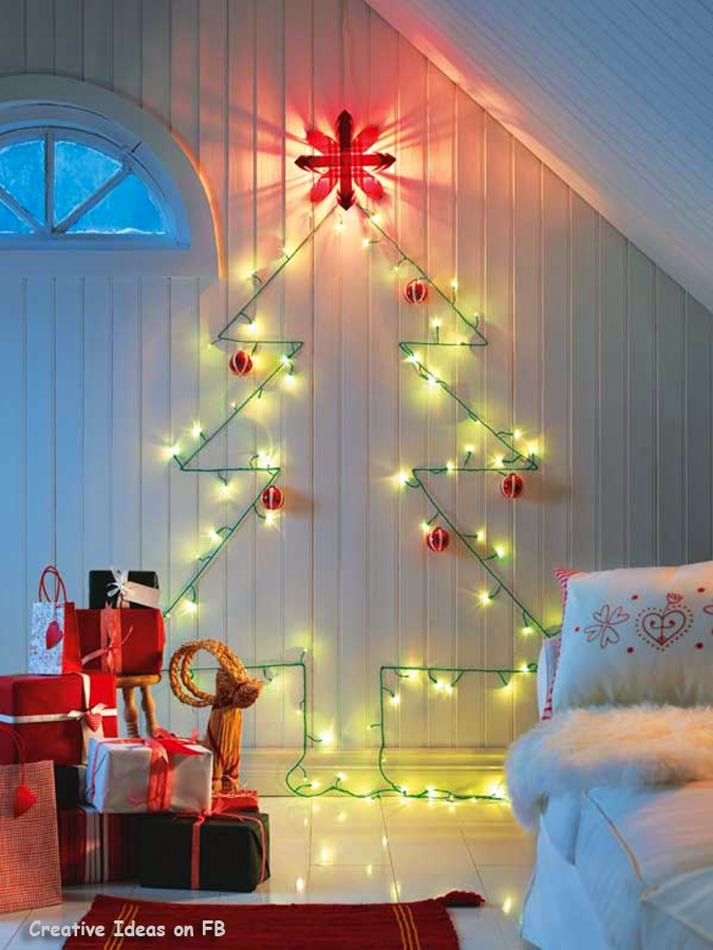 Adorable Wall Christmas Tree