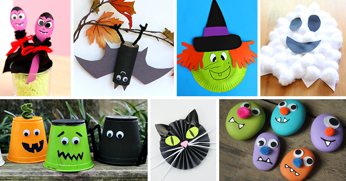 25 best halloween crafts for kids ideas and designs 2018