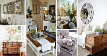 Rustic Chic Living Rooms
