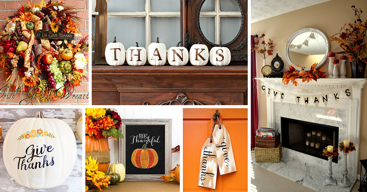 diy thanksgiving cute watch youtube decor affordable
