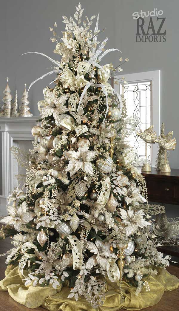 Christmas Tree Decorating Ideas.The 50 Best And Most Inspiring Christmas Tree Decoration