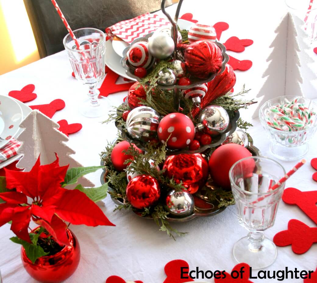 21 Best Christmas Cake Stand Decorating Ideas And Designs