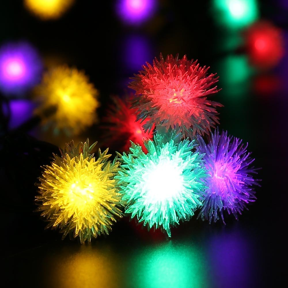 Chuzzle Ball Christmas Lights