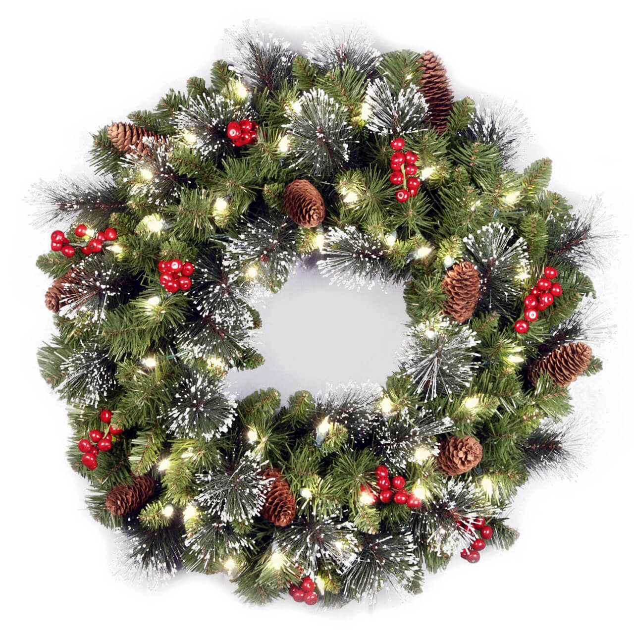 5 a really resplendent wreath - Christmas Tree Accessories
