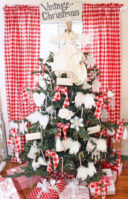 nordic farmhouse flair - Nordic Christmas Tree Decorations
