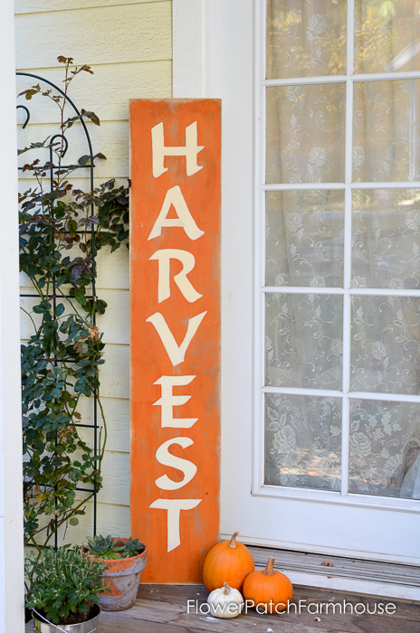 Narrow Wooden Entryway Sign