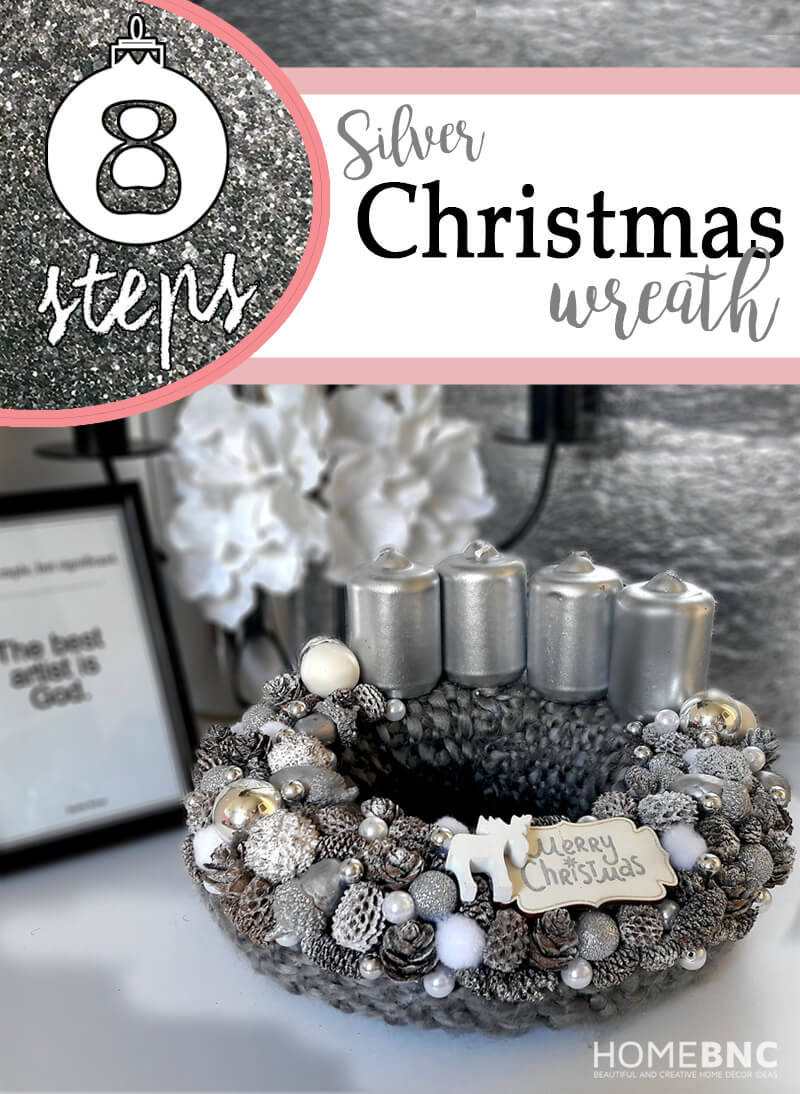 Enjoy your New Wonderful Silver Table Wreath