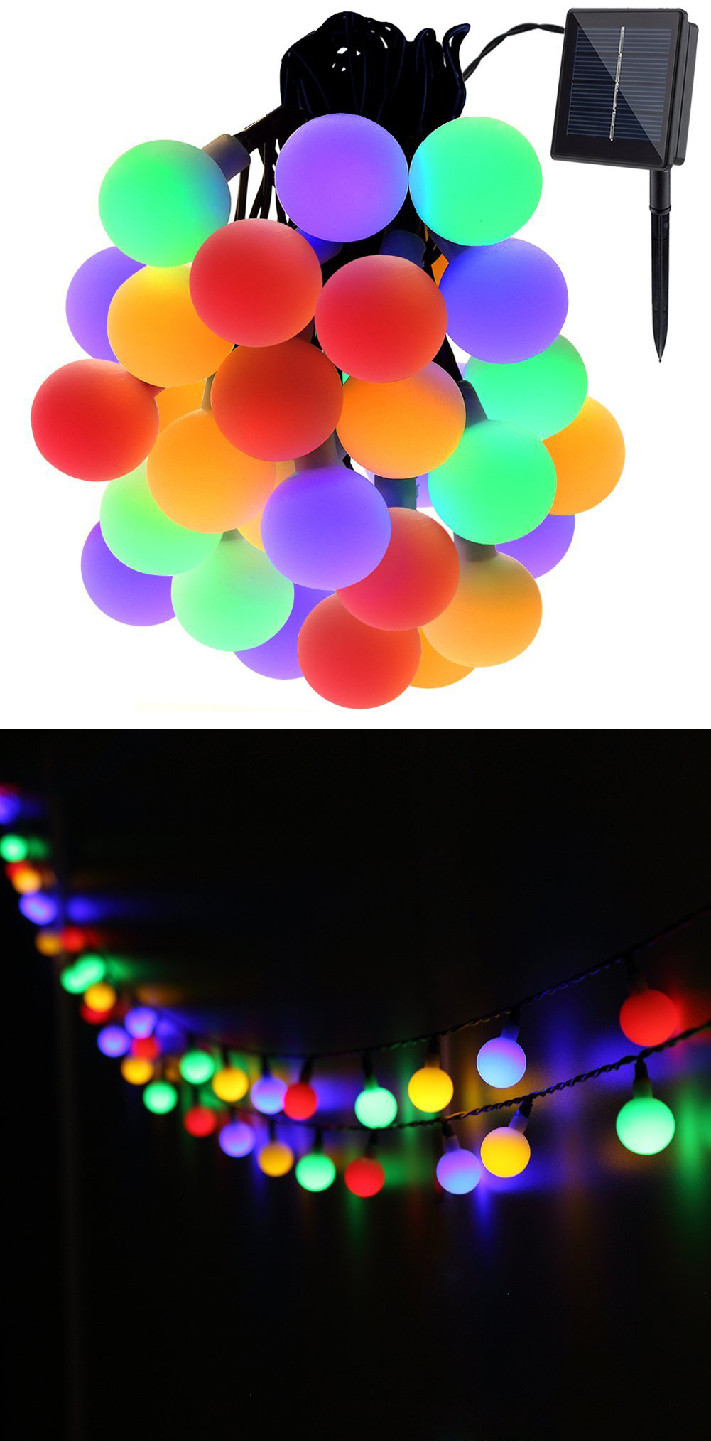 Multicolored Fairy Lights