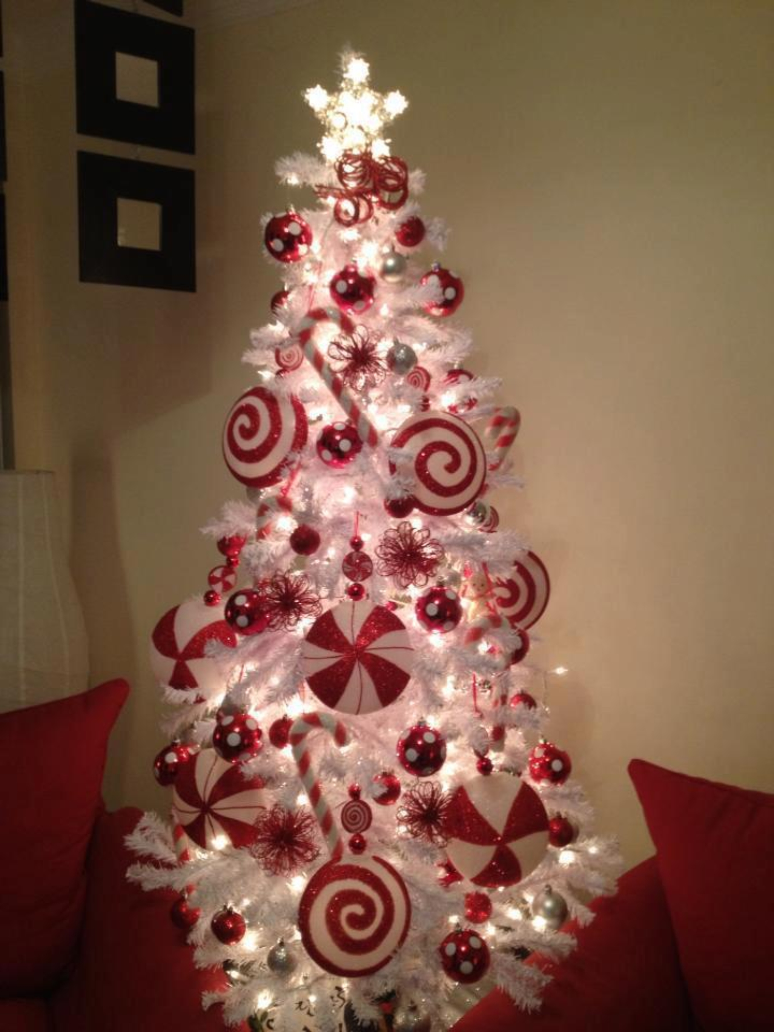 White Christmas Tree Design.The 50 Best And Most Inspiring Christmas Tree Decoration