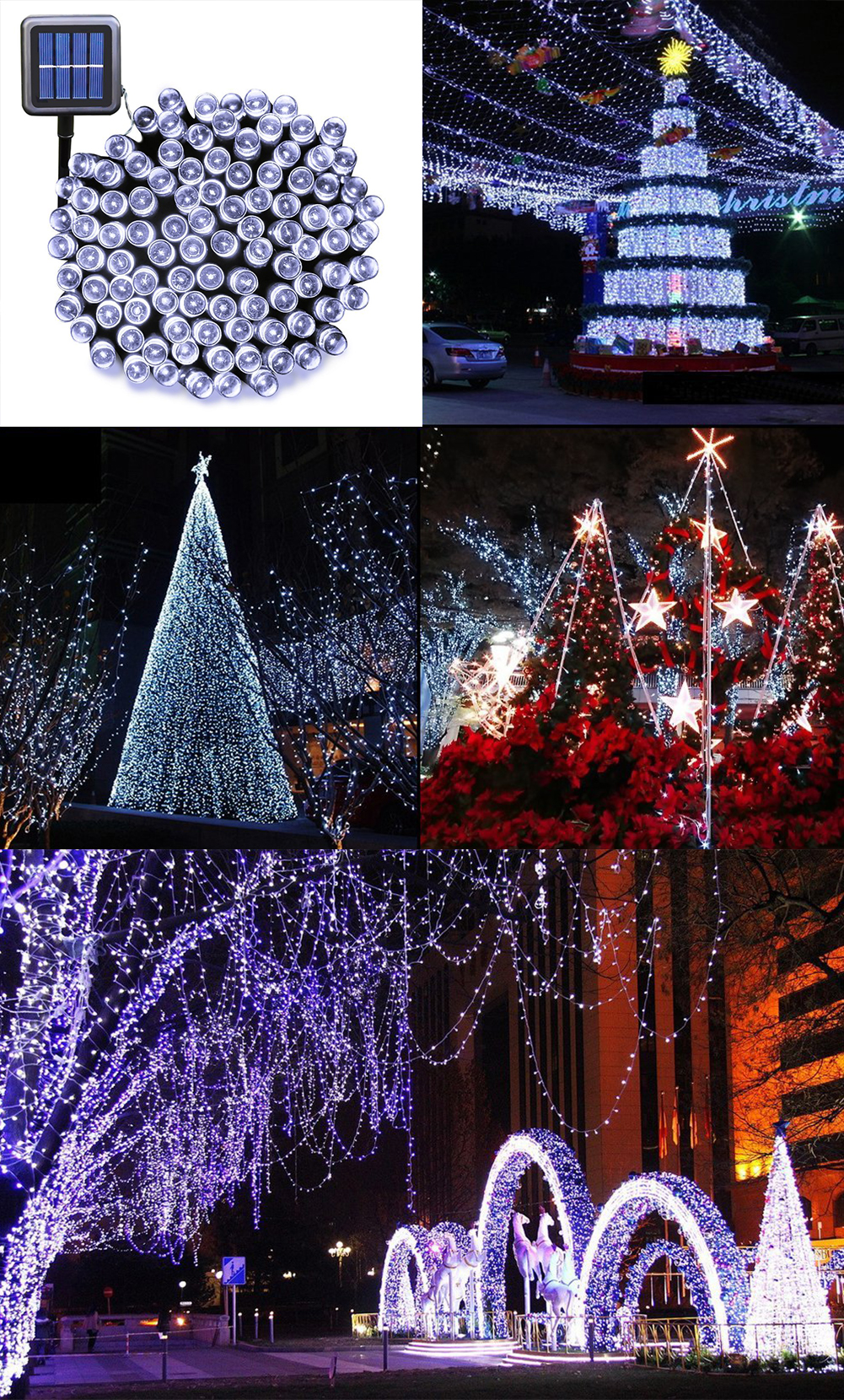 Solar Christmas Decorations - Solar string lights