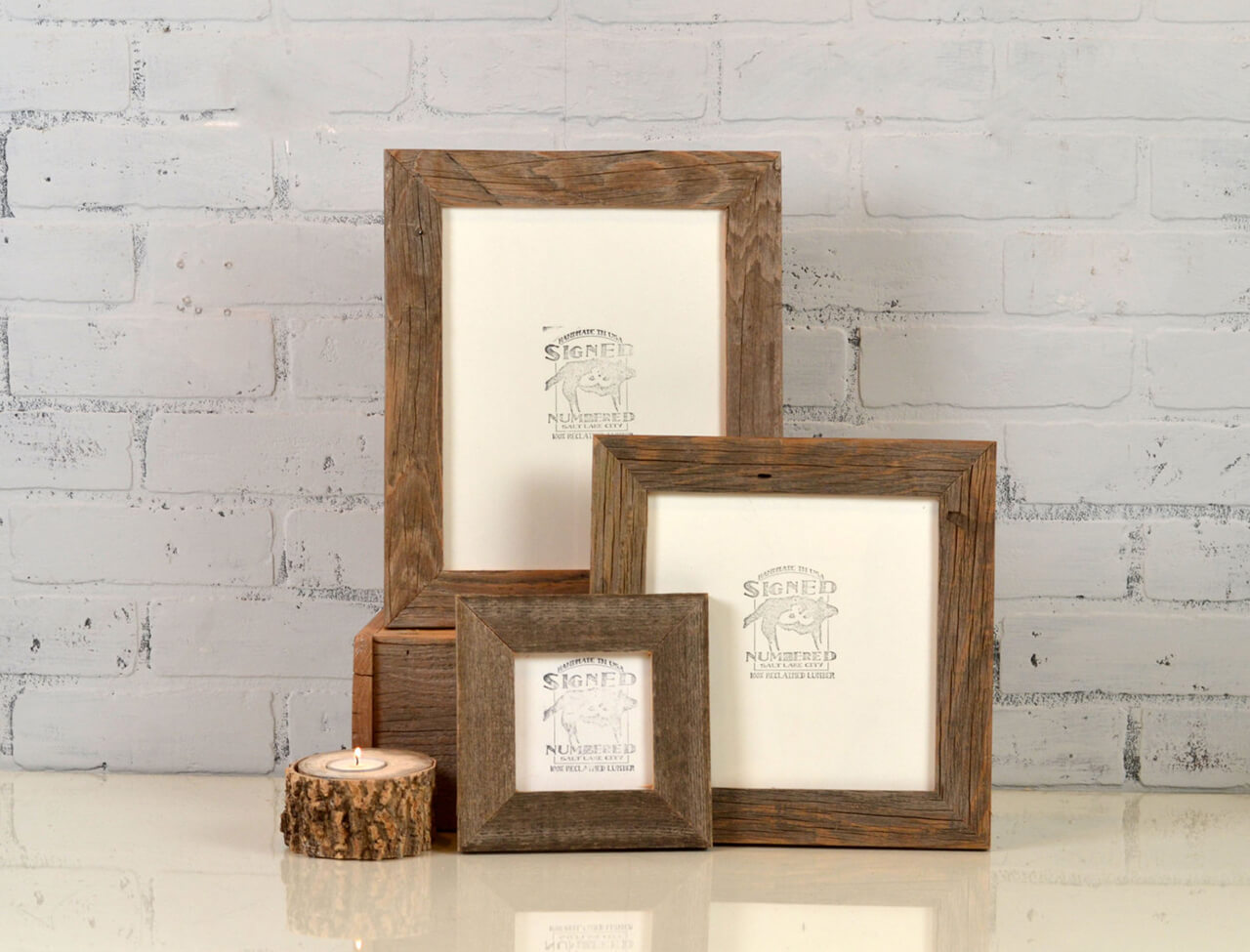 Petite Sized Wooden Picture Frames
