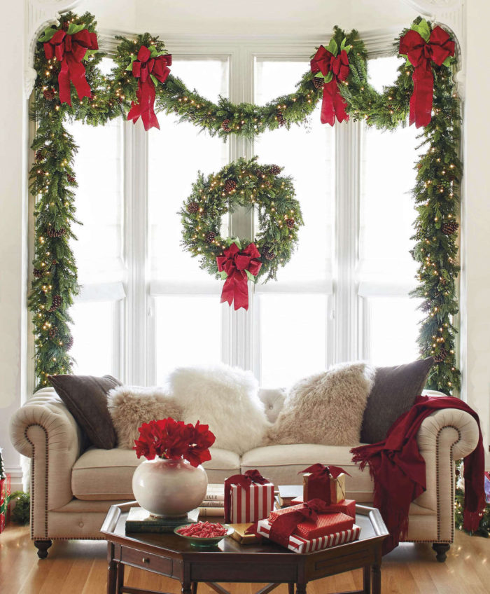 Christmas Diy Decorating Ideas: 50 Best DIY Christmas Garland Decorating Ideas For 2018