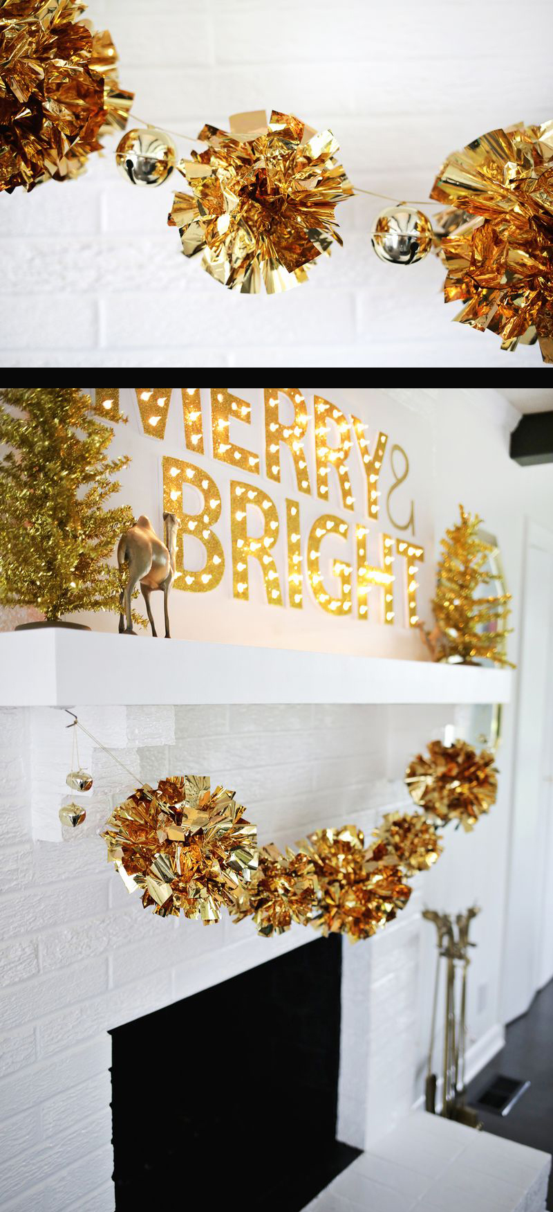 Best diy christmas garland decorating ideas for