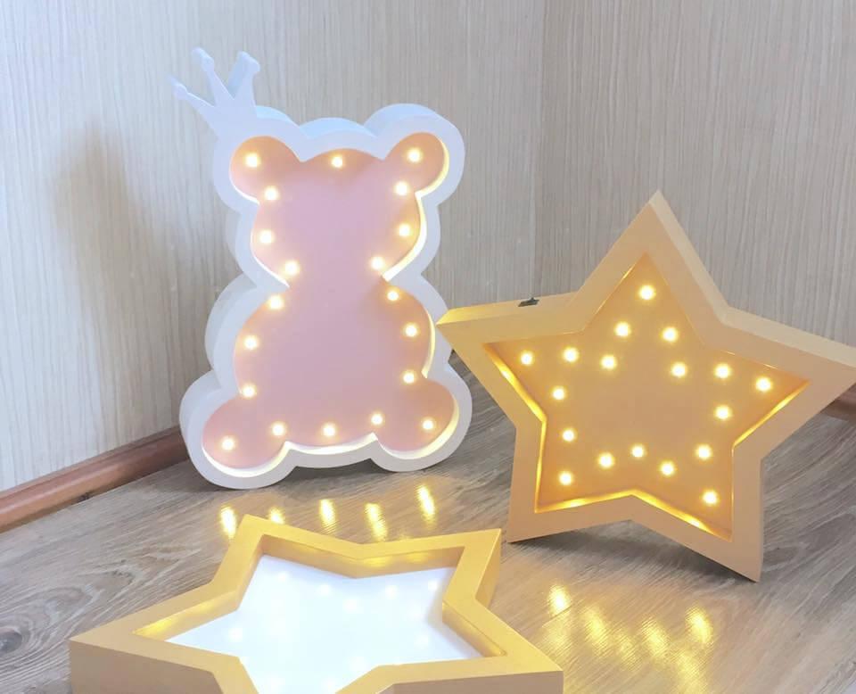 Handmade LED Nightlight