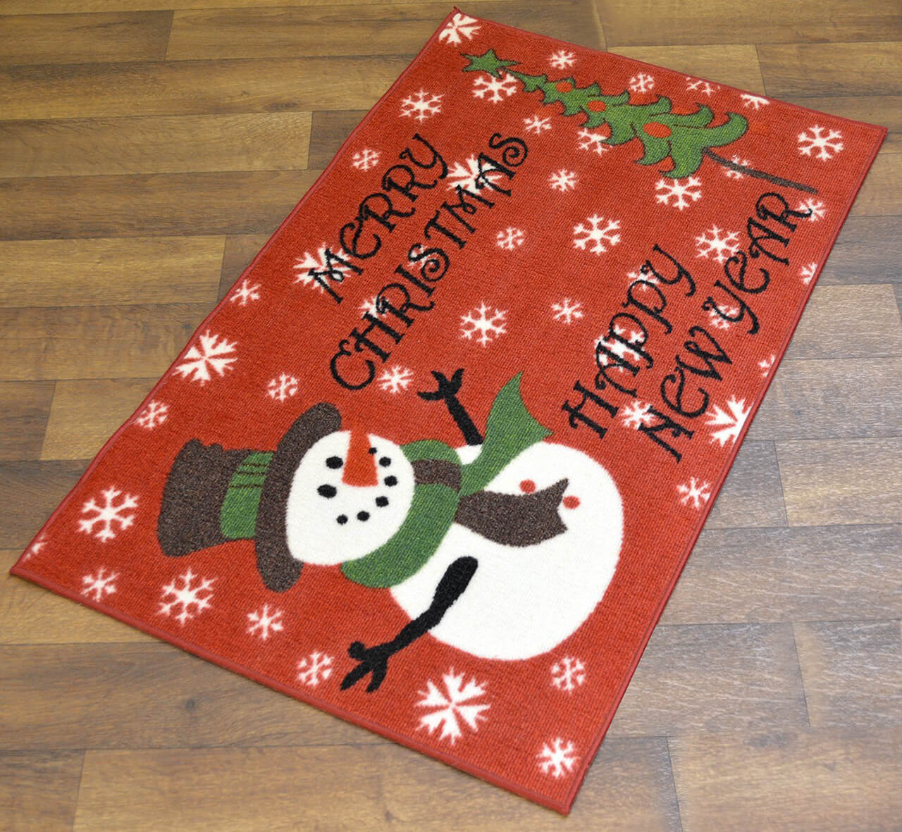 The Winter Wonderland Welcome Mat