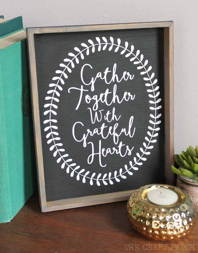 Printable Framed Welcoming Sign