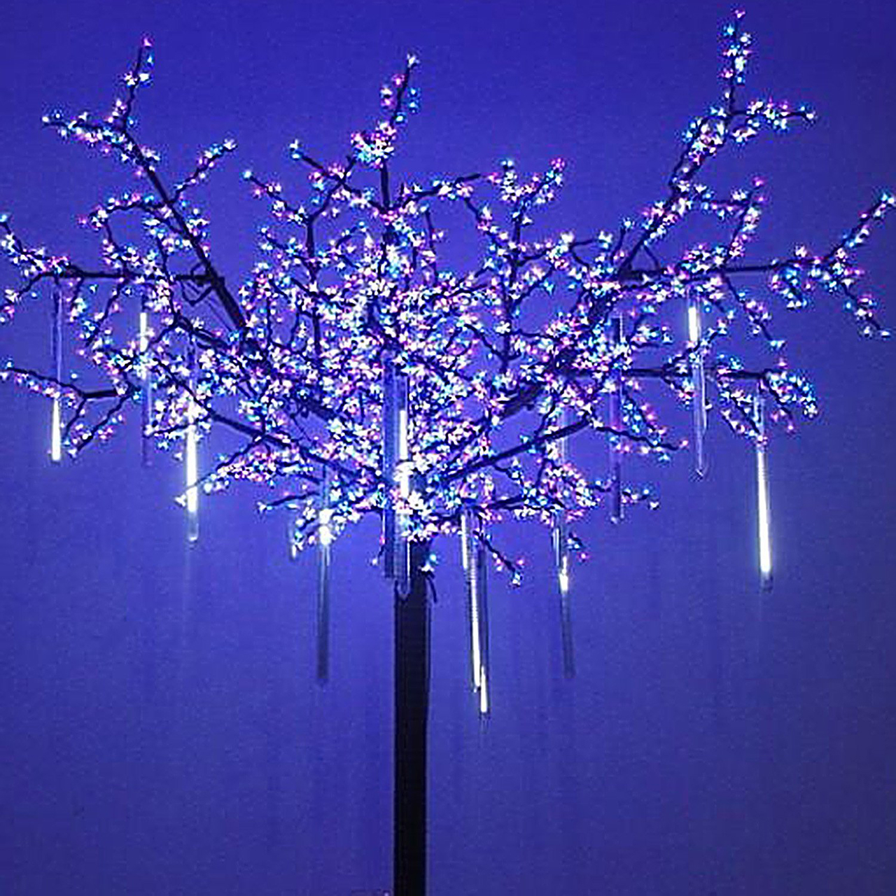 cascading lights - Cool Christmas Light Ideas