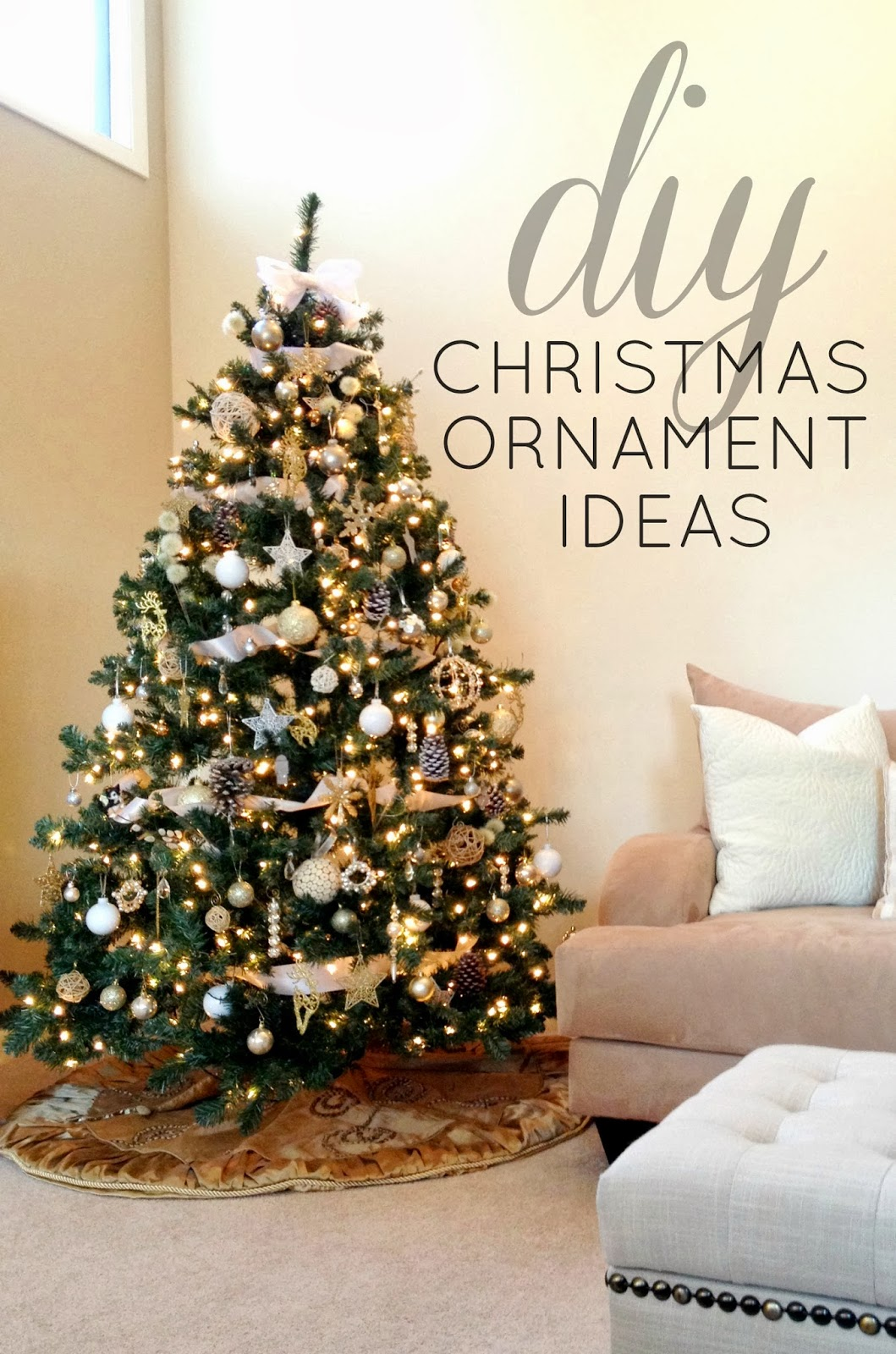 25 modern opulence - Christmas Trees Decorated