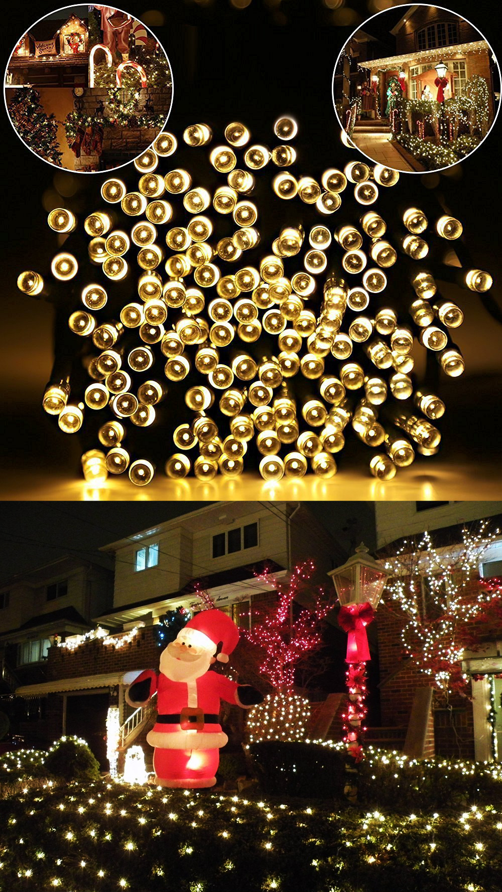 30 best outside christmas light ideas for 2018 for Exterior xmas lighting ideas