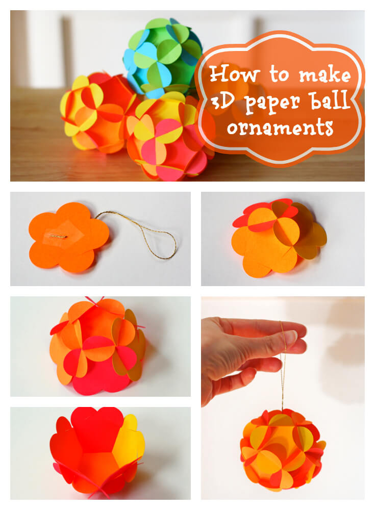 50 incredible diy christmas ornament tutorials for 2018 for Creative christmas ornaments to make