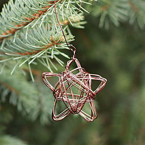 Copper Twine Ornament