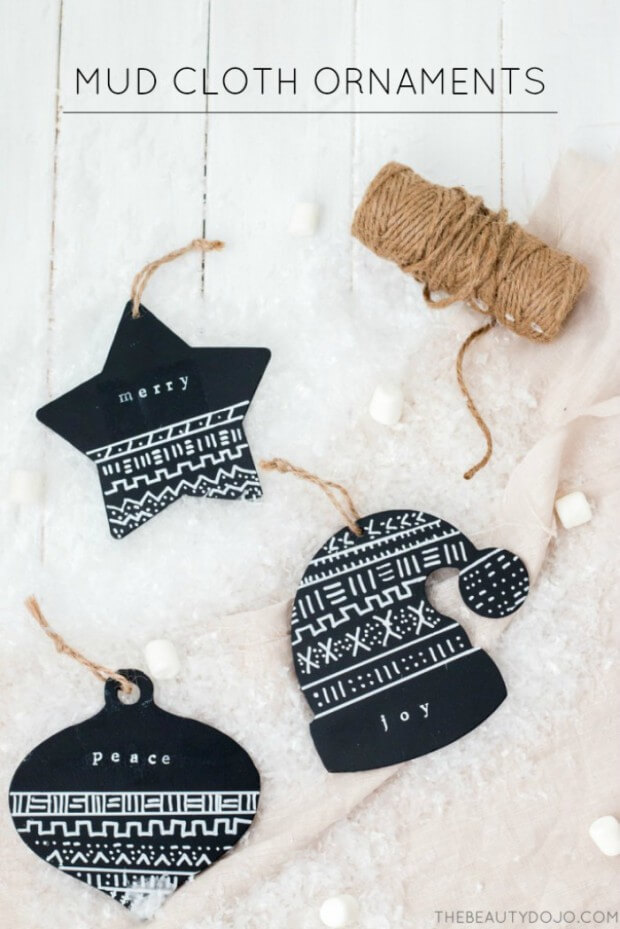 Christmas Sweater Cloth Ornaments