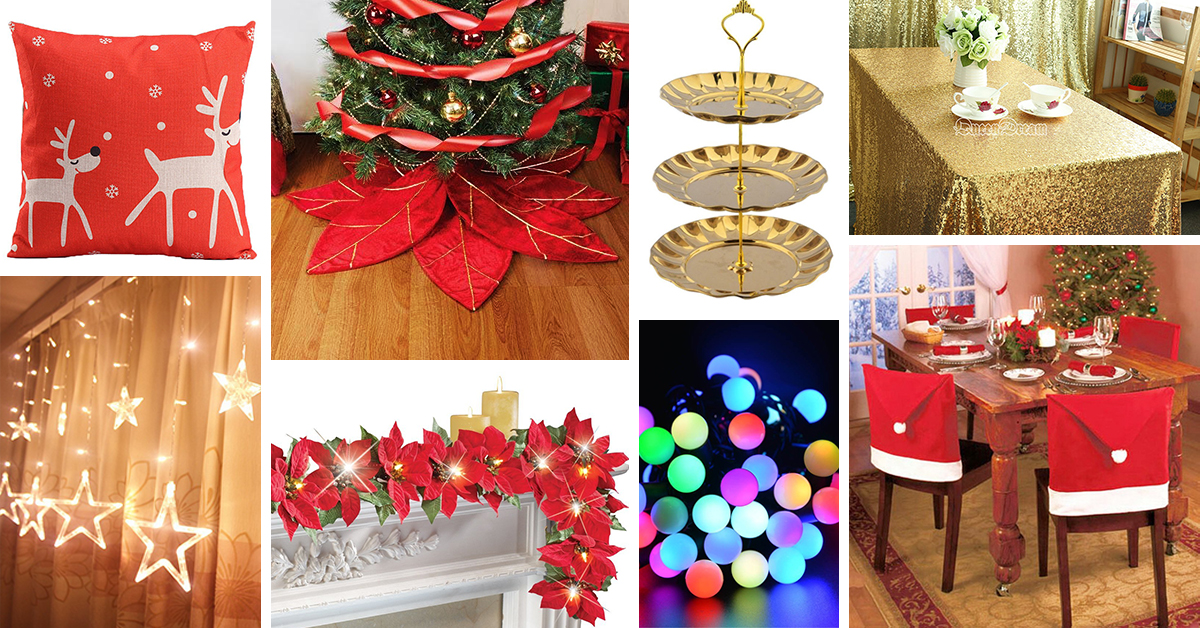 27 best christmas accessories to decorate your home in 2017 - Christmas Tree Accessories