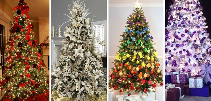 the 50 best and most inspiring christmas tree decoration ideas for 2018 - Designer Christmas Decorations