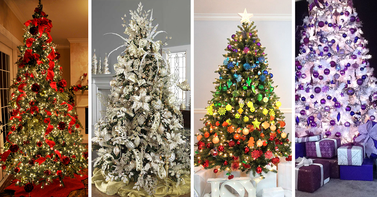 Christmas Tree Decorations Ideas.The 50 Best And Most Inspiring Christmas Tree Decoration