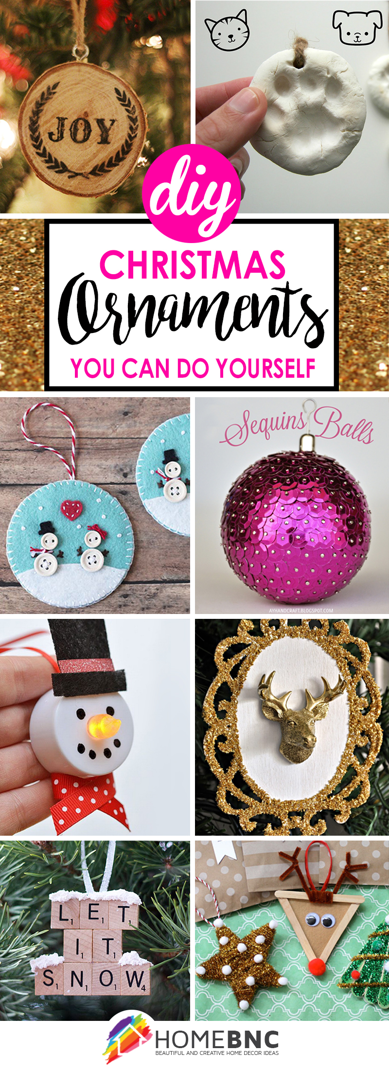 50 incredible diy christmas ornament tutorials for 2018 diy christmas ornament ideas solutioingenieria Image collections