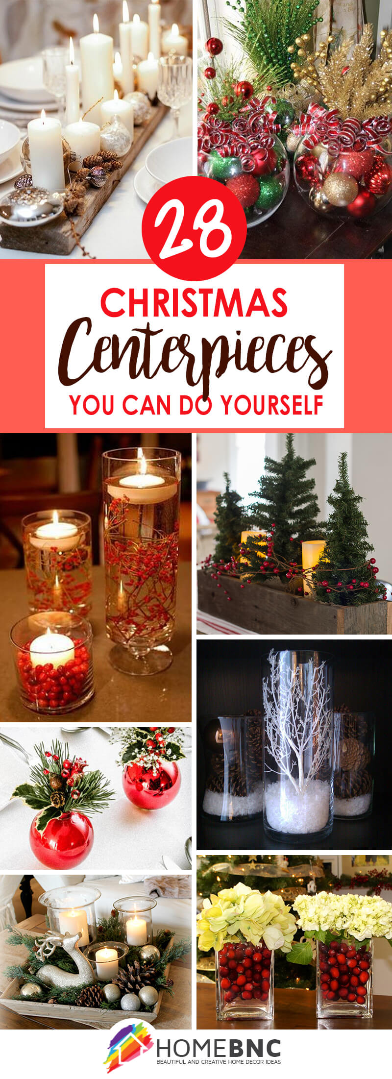 28 Best DIY Christmas Centerpieces (Ideas and Designs) for ...
