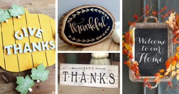 DIY Thanksgiving Signs