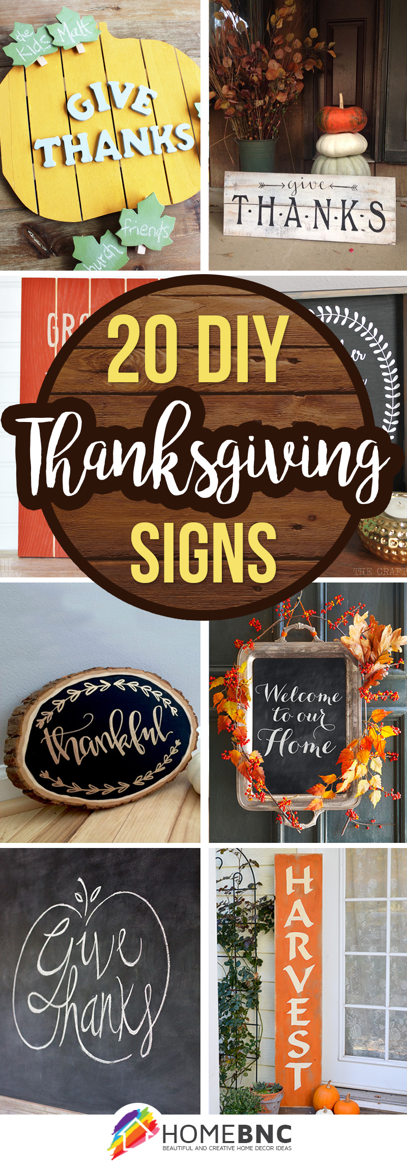 20 Best Diy Thanksgiving Signs Ideas And Designs For 2019