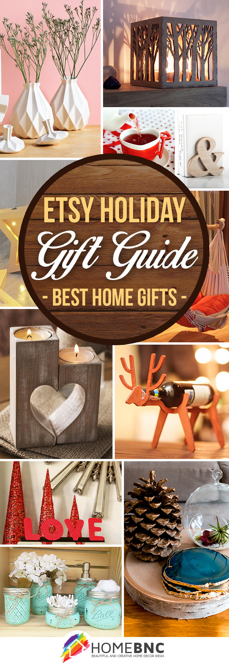 Etsy Holiday Gift Guide: Best Home Christmas Gifts for Everyone in 2018