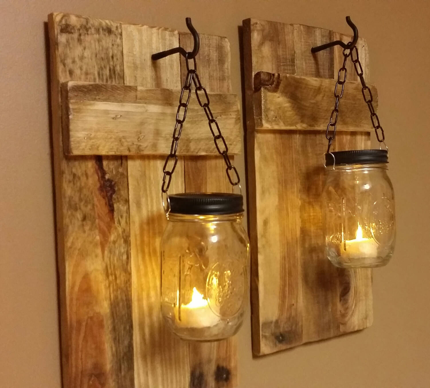 44 best diy mason jar crafts ideas and designs for 2018 2 a rustic light on the western front arubaitofo Image collections