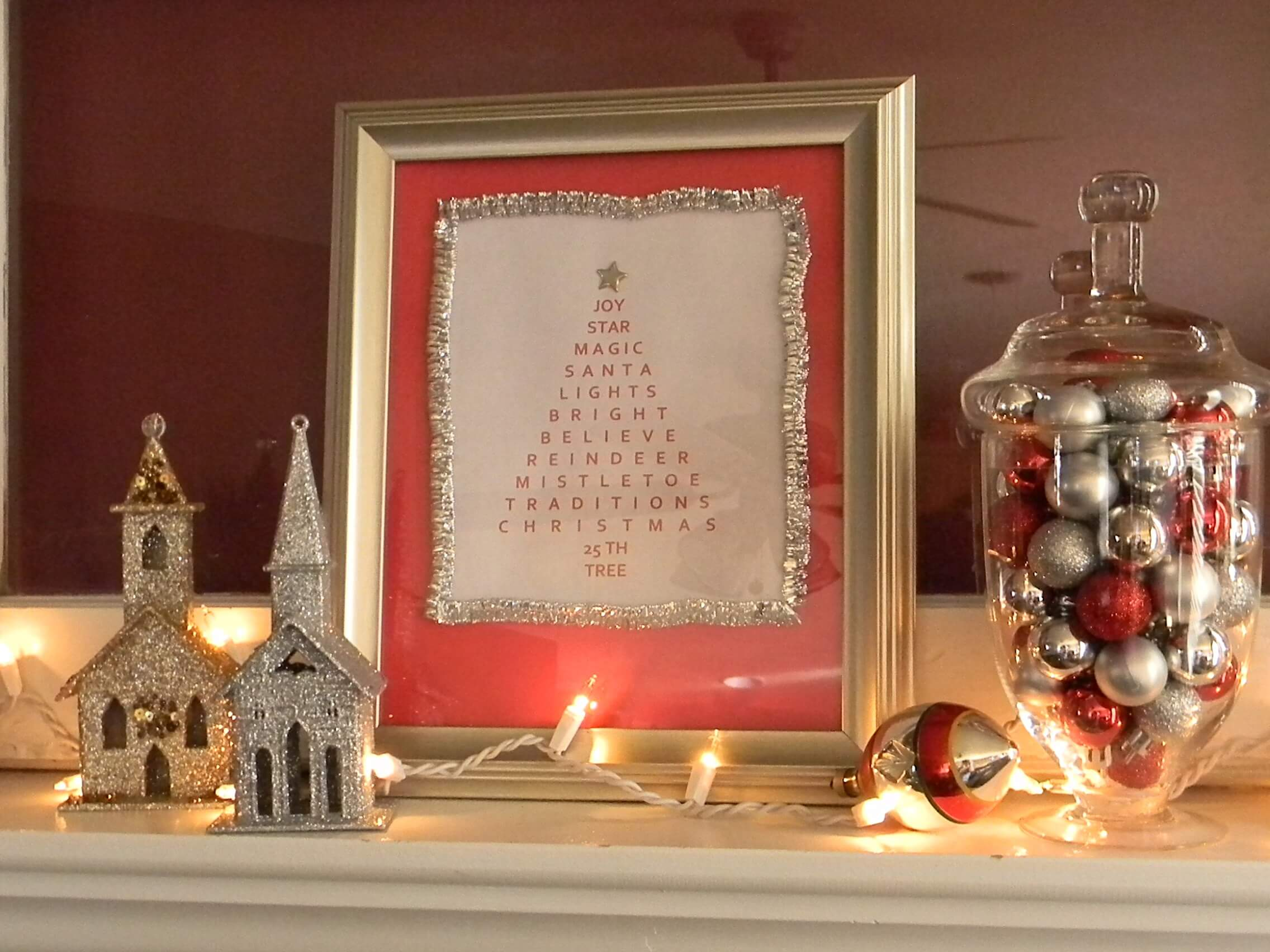 Create Your Own Framed Tree Word Art