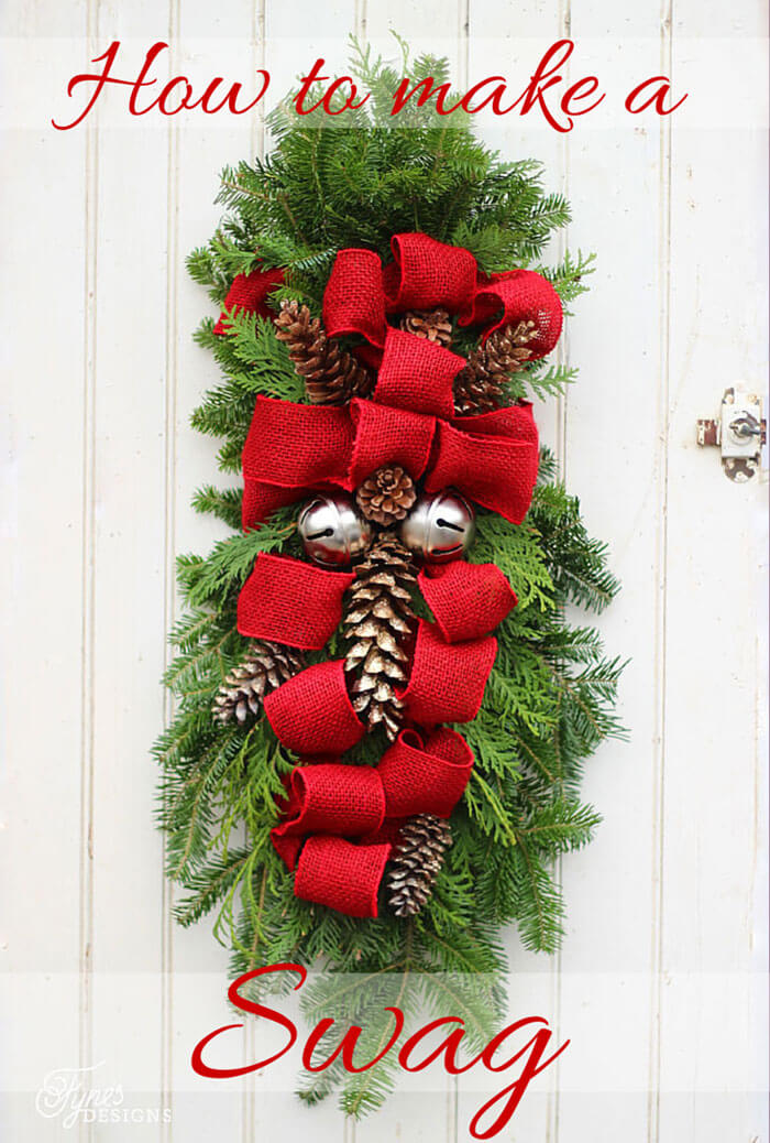 Decorate Your Entrance with a DIY Swag