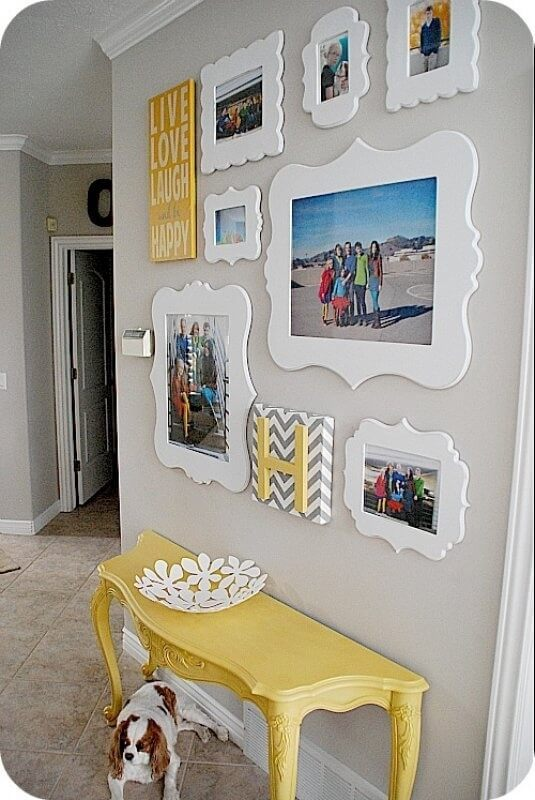 Funky Frames Make a Gallery Wall Pop