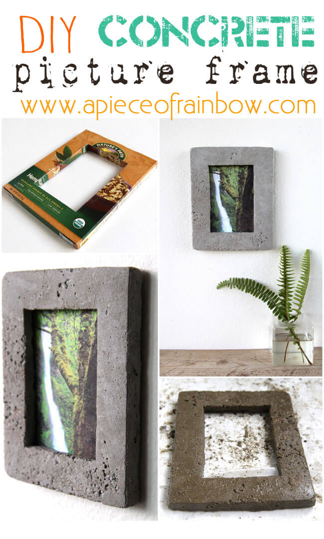Complement Industrial Decor With a Concrete Frame