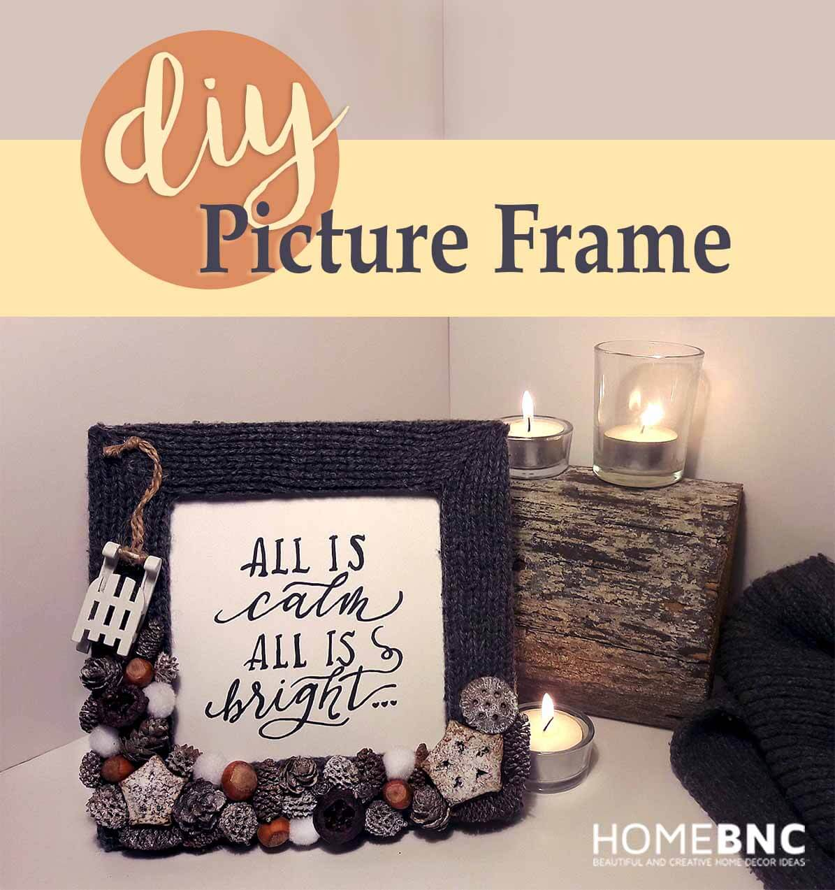 Find the Perfect Place for the Picture Frame and Enjoy the View