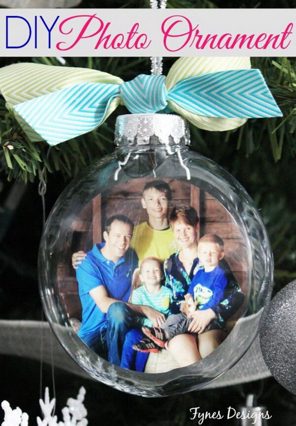 Personalize Your Tree with Photo Ornaments