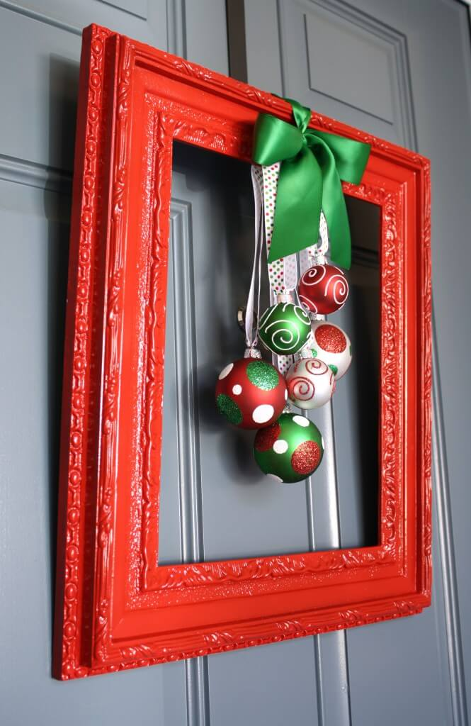 Festive Frame for your Doorstep