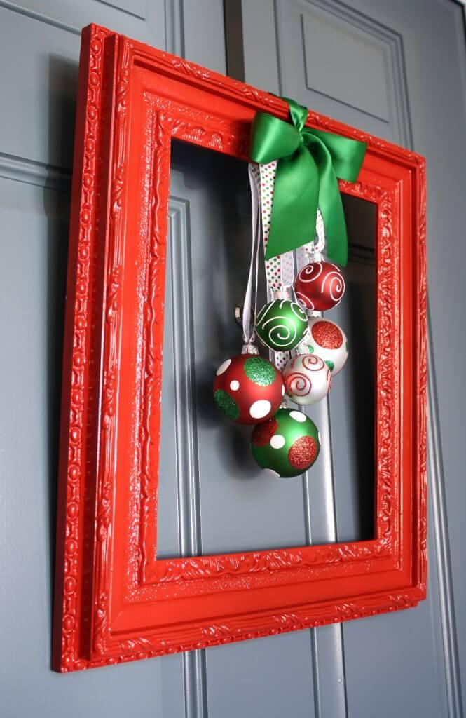 Festive Frame for your Doorstep