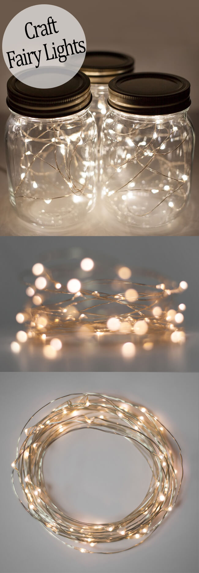 44 best diy mason jar crafts ideas and designs for 2017 for Led craft lights battery
