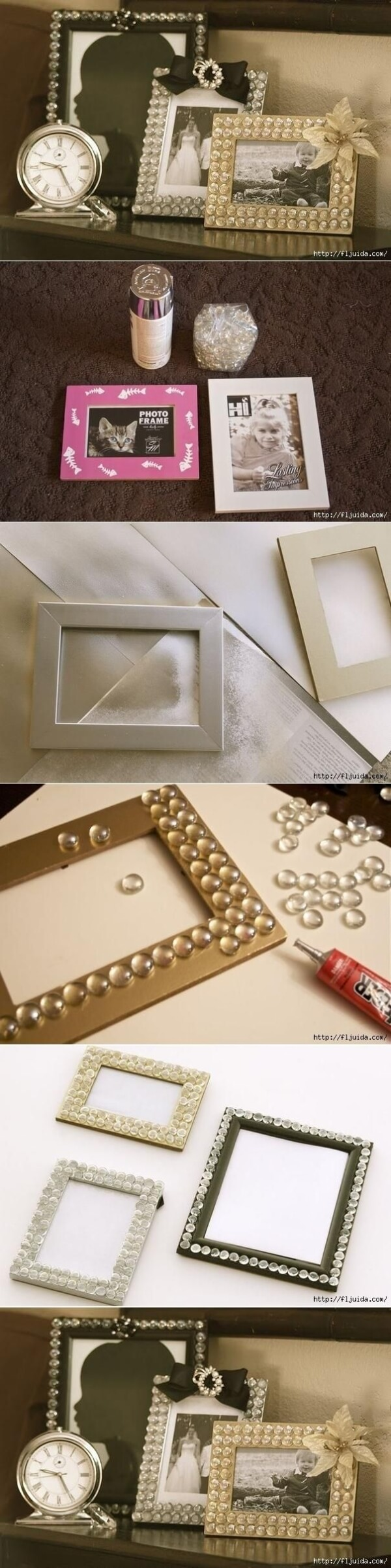 16 creative and fun diy photo and picture frame style