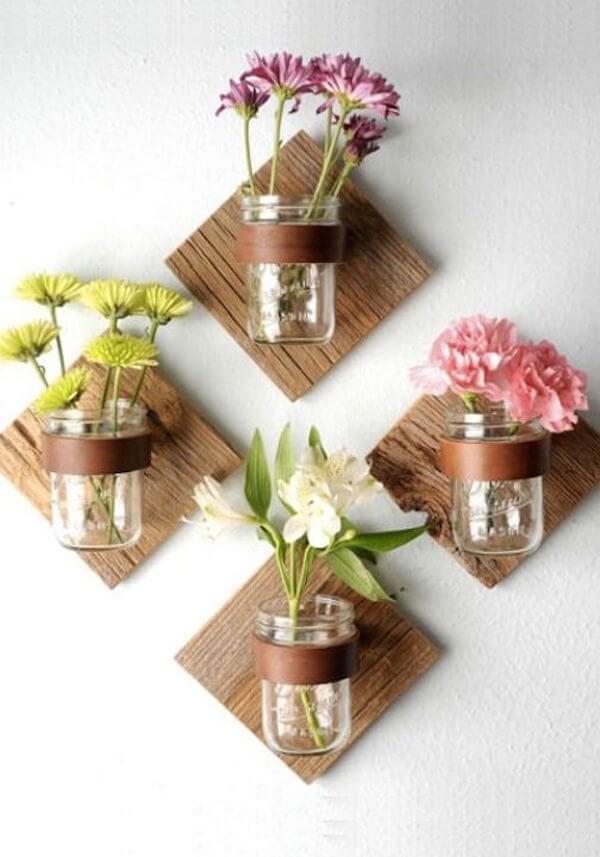 Machen Sie sich kreativ mit diesen 44 DIY Mason Jar Crafts